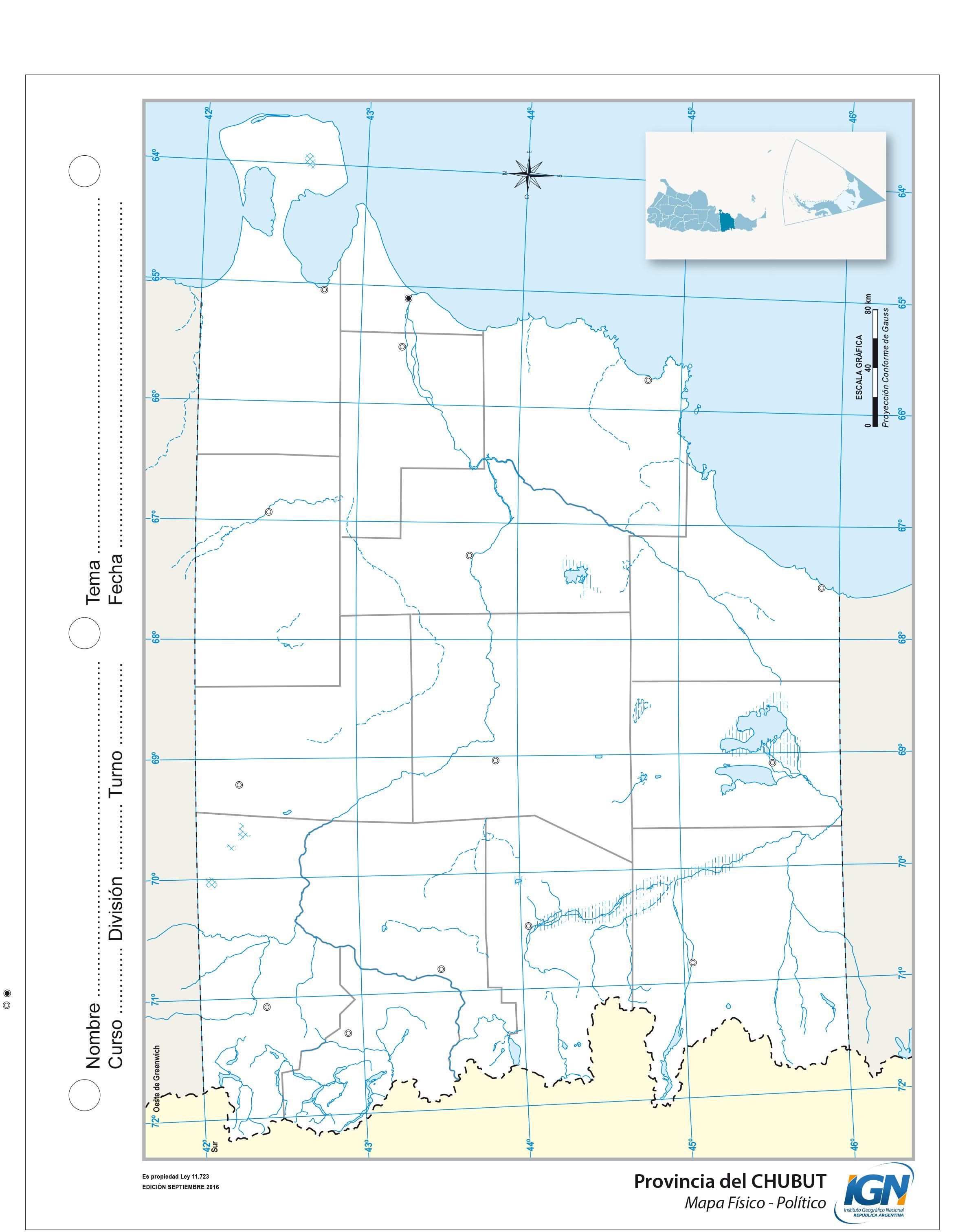 Mapas escolares | Instituto Geográfico Nacional